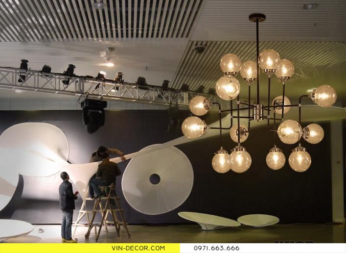 đèn chùm hiện đại artisan 5