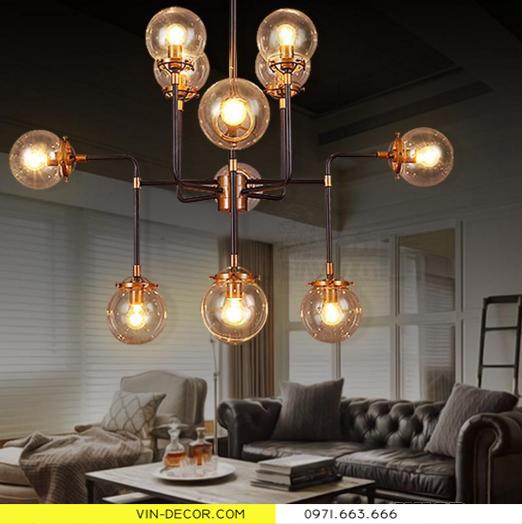 đèn chùm hiện đại artisan 7