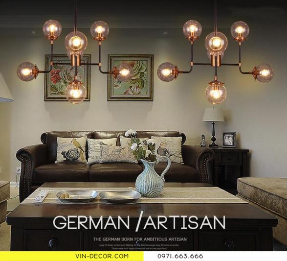 đèn chùm hiện đại artisan 8