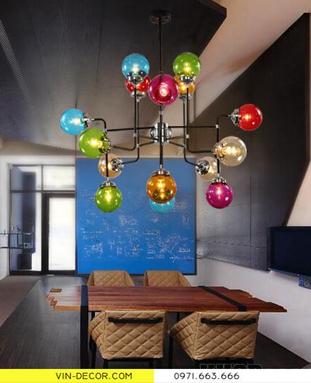 đèn chùm hiện đại artisan 9