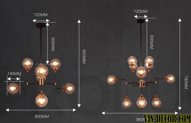 đèn chùm hiện đại artisan đẹp 01