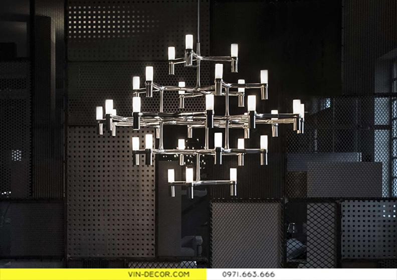 đèn chùm trang trí phòng khách PK 01 2