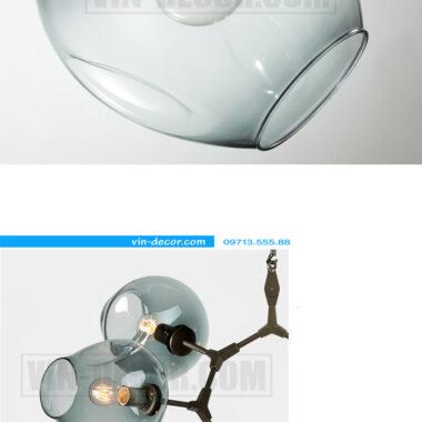 đèn phòng khách adel bubble đẹp 06