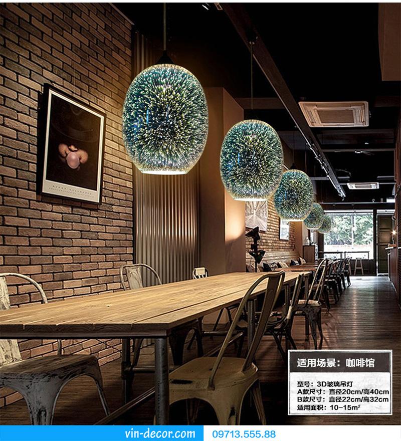 đèn thả bàn ăn hiện đại 16