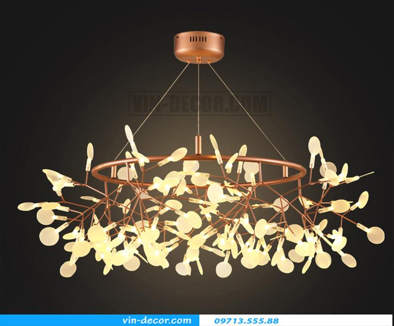đèn trang trí nội thất chung cư đẹp hiện đại 01