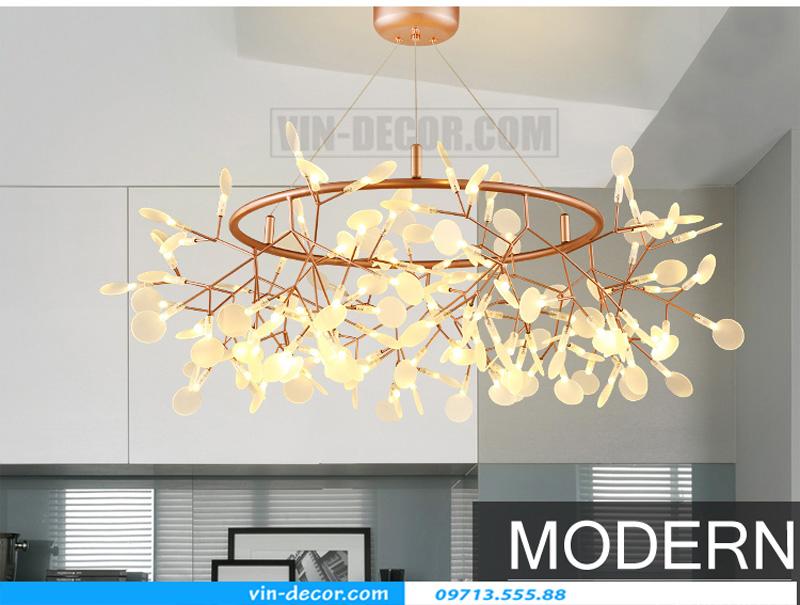 đèn trang trí nội thất chung cư hiện đại 01