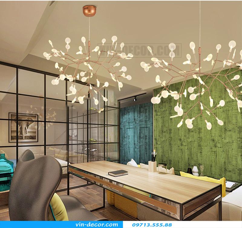 đèn trang trí nội thất chung cư hiện đại 02