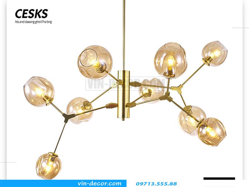 đèn trang trí nội thất chung cư hiện đại 05
