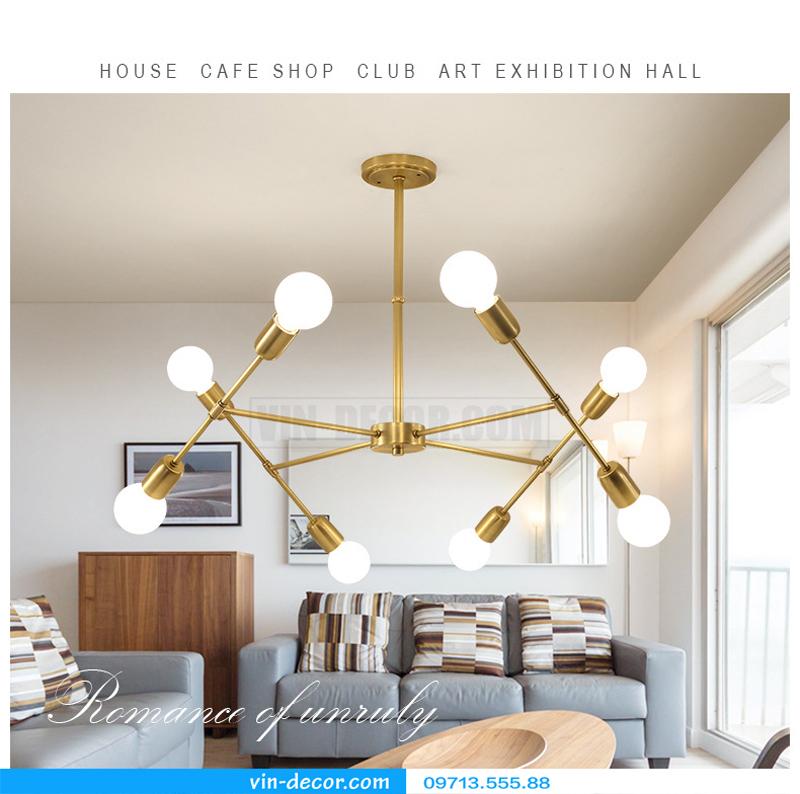 đèn trang trí nội thất chung cư hiện đại 14
