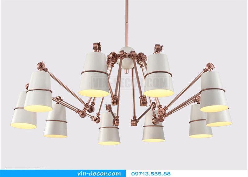 đèn trang trí nội thất chung cư hiện đại 16