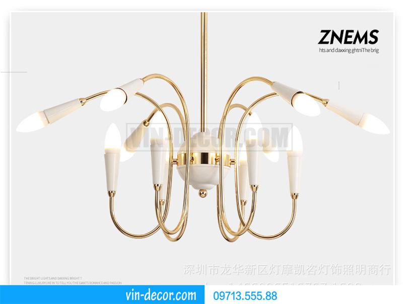 đèn trang trí nội thất chung cư hiện đại 17