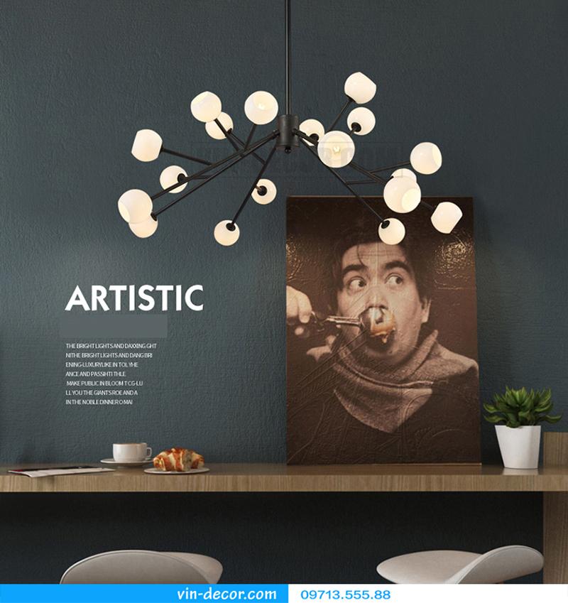 đèn trang trí nội thất chung cư hiện đại 21