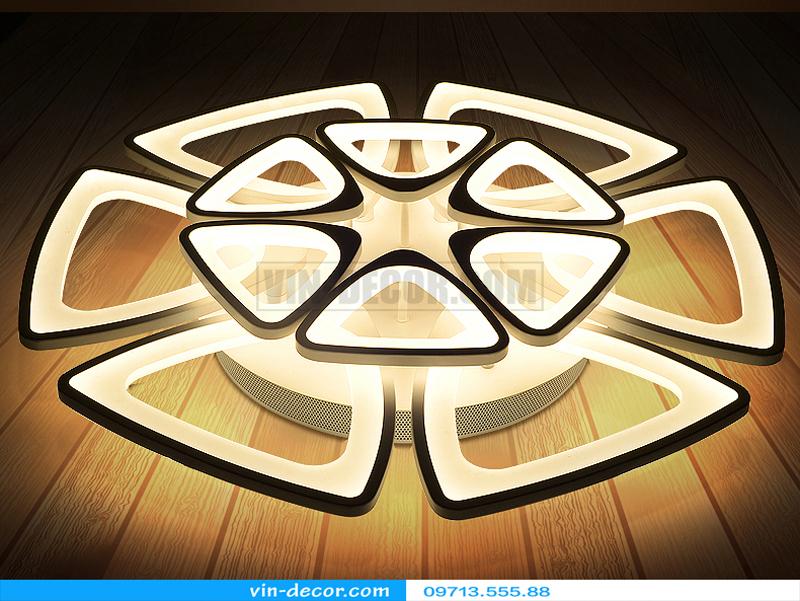 đèn trang trí nội thất chung cư hiện đại 28