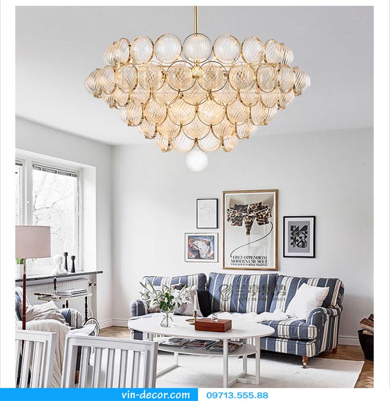 đèn trang trí nội thất chung cư hiện đại 45
