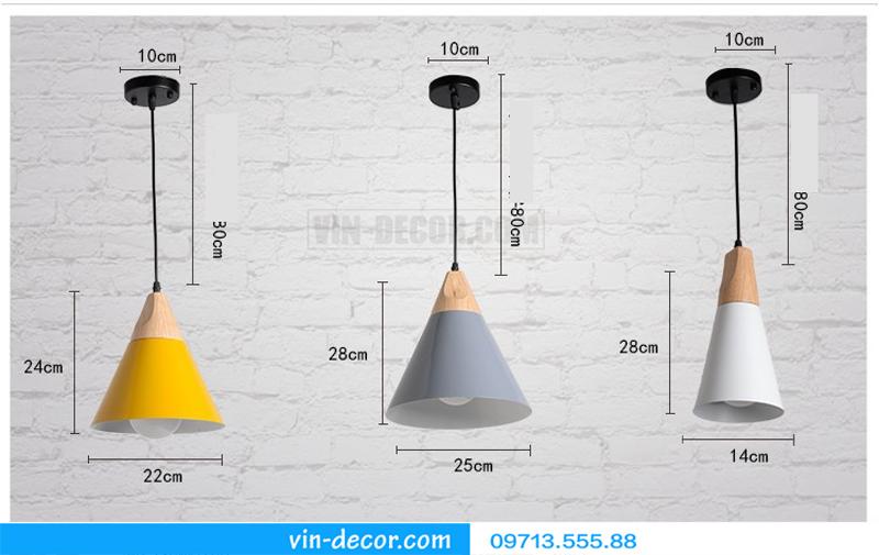 đèn trang trí nội thất chung cư hiện đại 64
