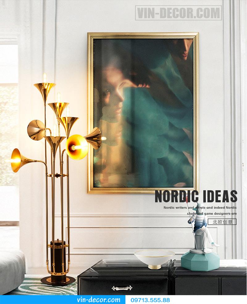 đèn trang trí nội thất chung cư hiện đại 80