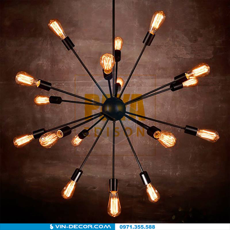 đèn chùm pengda vintage đẹp