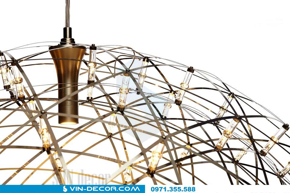 đèn thả led raimond zafu 03