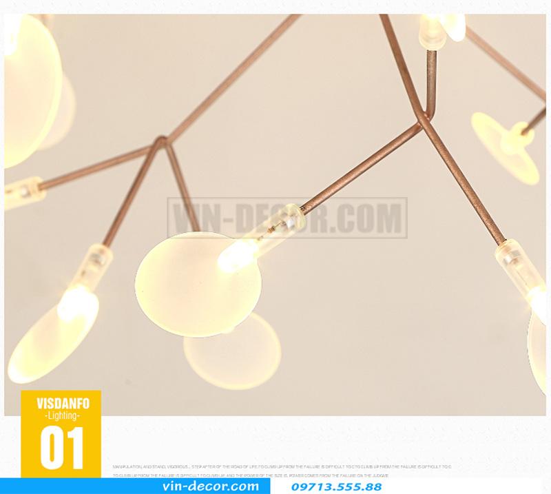 đèn trang trí heracleum hiện đại 07