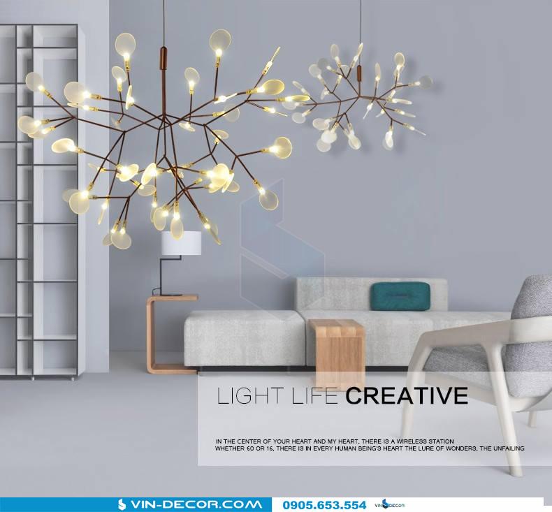 đèn trang trí heracleum pk 01 3