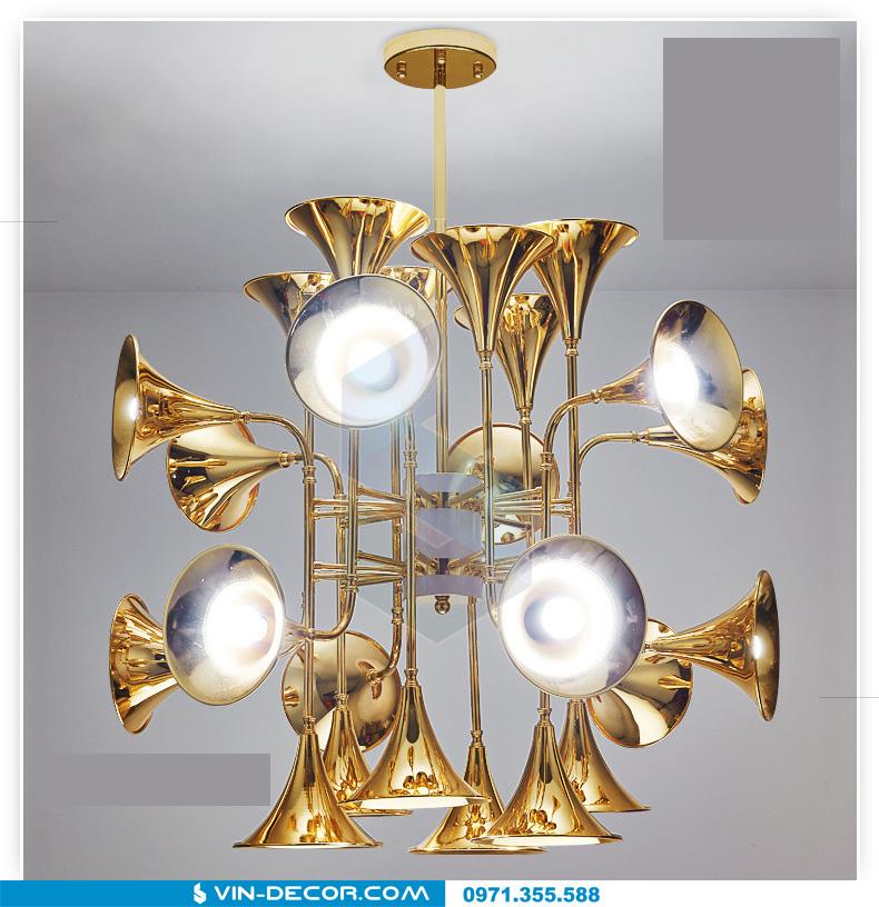 đèn trang trí hình loa kèn đẳng cấp 02