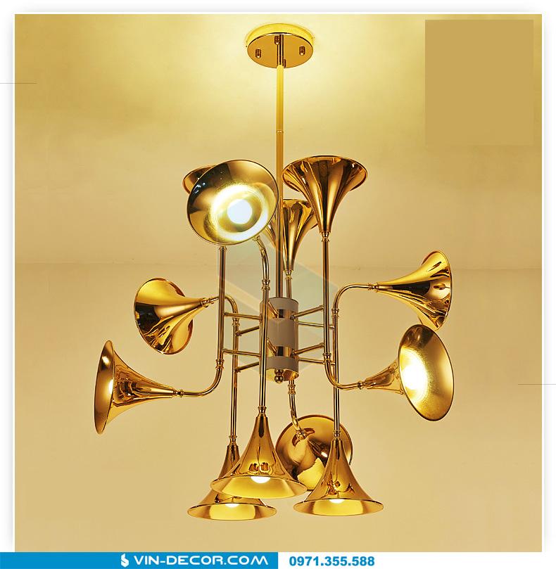 đèn trang trí hình loa kèn đẳng cấp 09