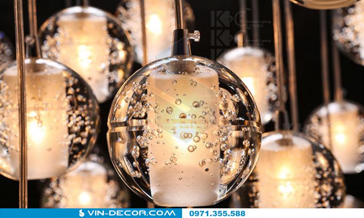 đèn thả bocci độc đáo 07