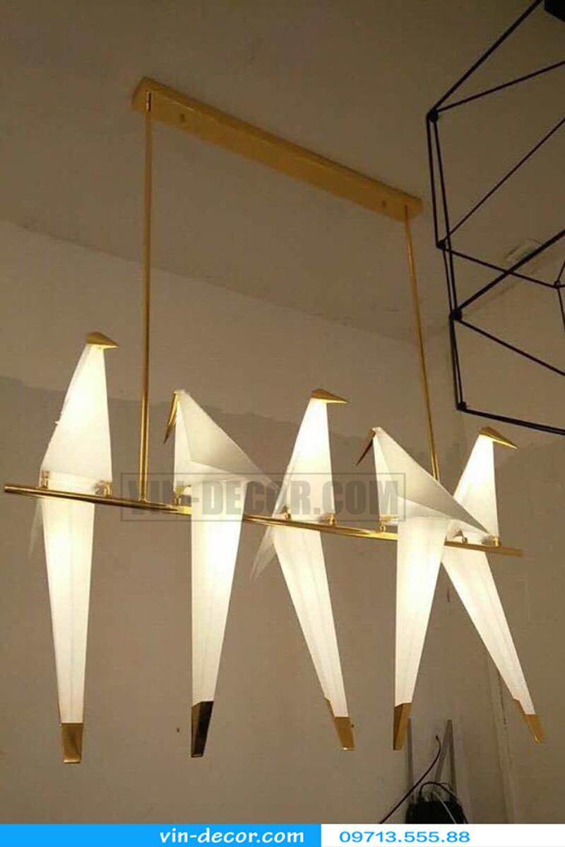 đèn chim trang trí ban công độc đáo ấn tượng 01