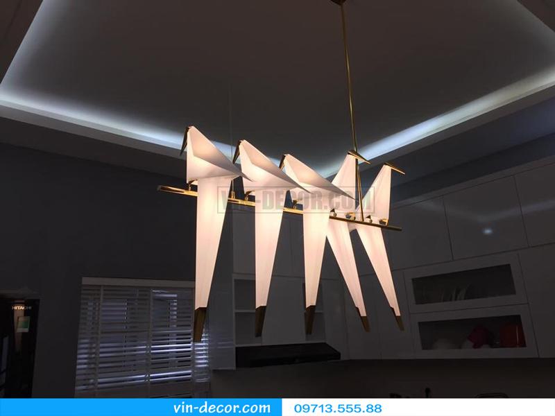 đèn chim trang trí ban công độc đáo ấn tượng 02