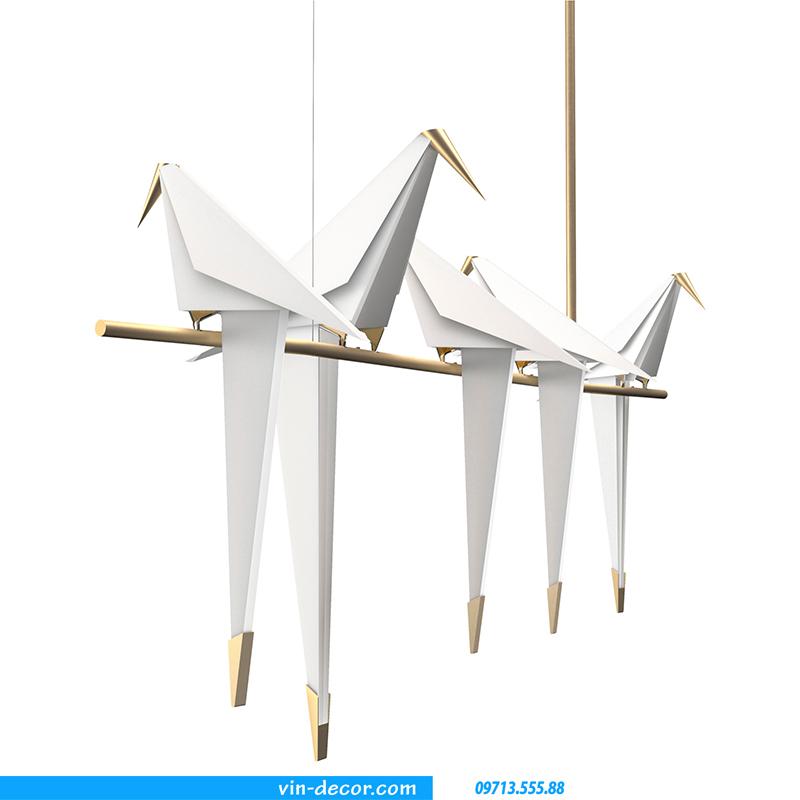 đèn chim trang trí độc đáo 07 1