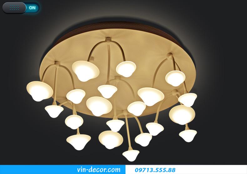 đèn nấm trang trí phòng khách 02