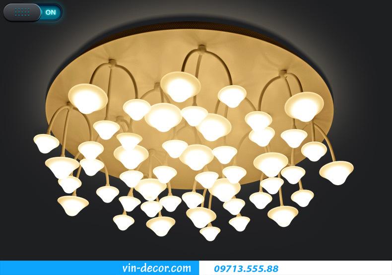 đèn nấm trang trí phòng khách 03