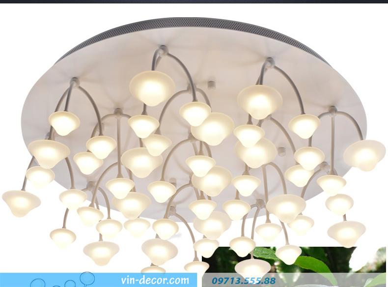 đèn nấm trang trí phòng khách 06