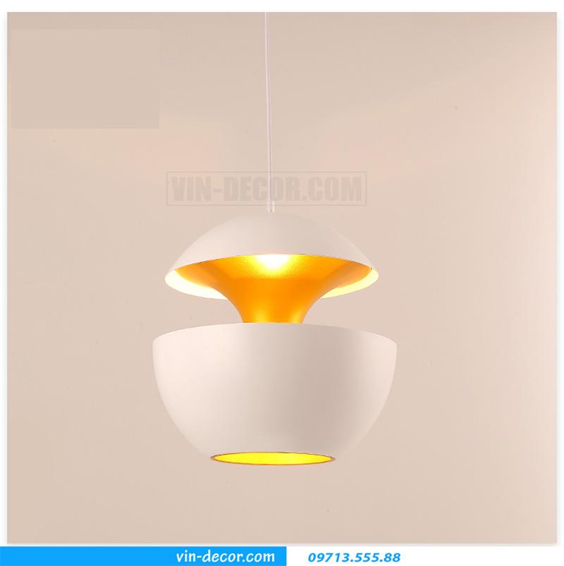 đèn thả bàn ăn hình quả táo độc đáo hiện đại 01