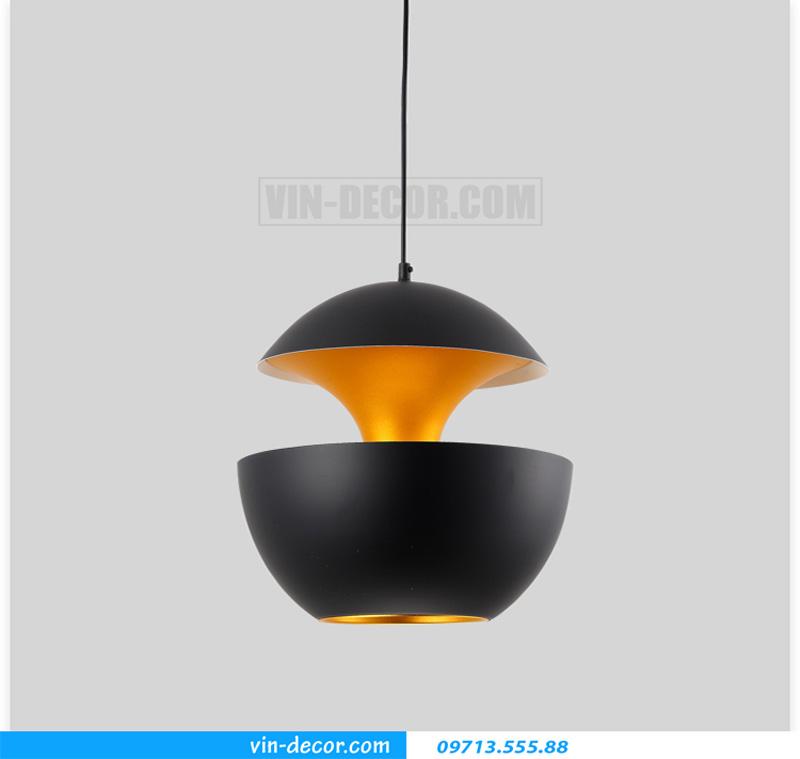 đèn thả bàn ăn hình quả táo độc đáo hiện đại 03