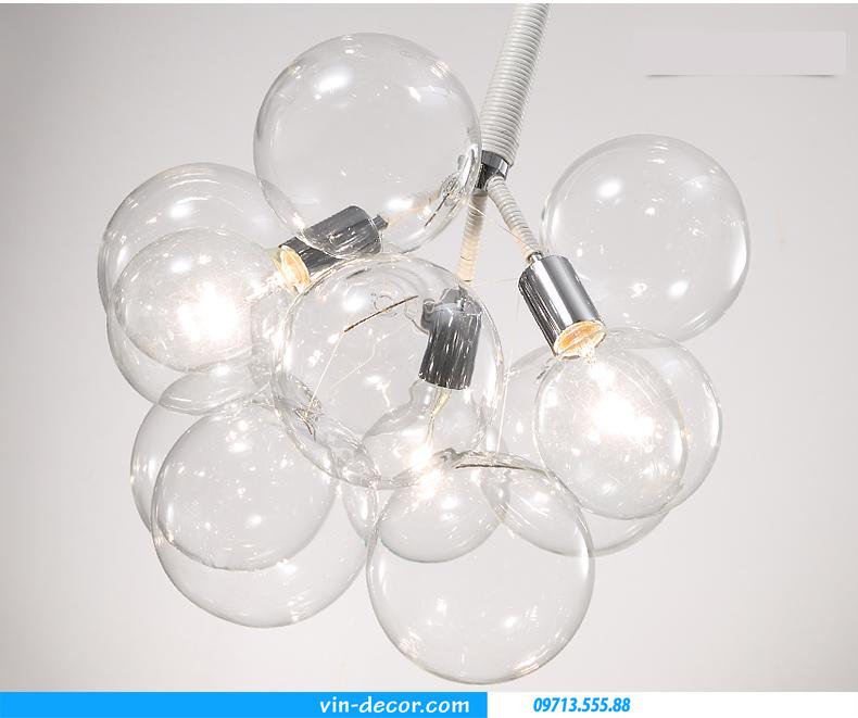đèn thả bong bóng hiện đại sang trọng 04
