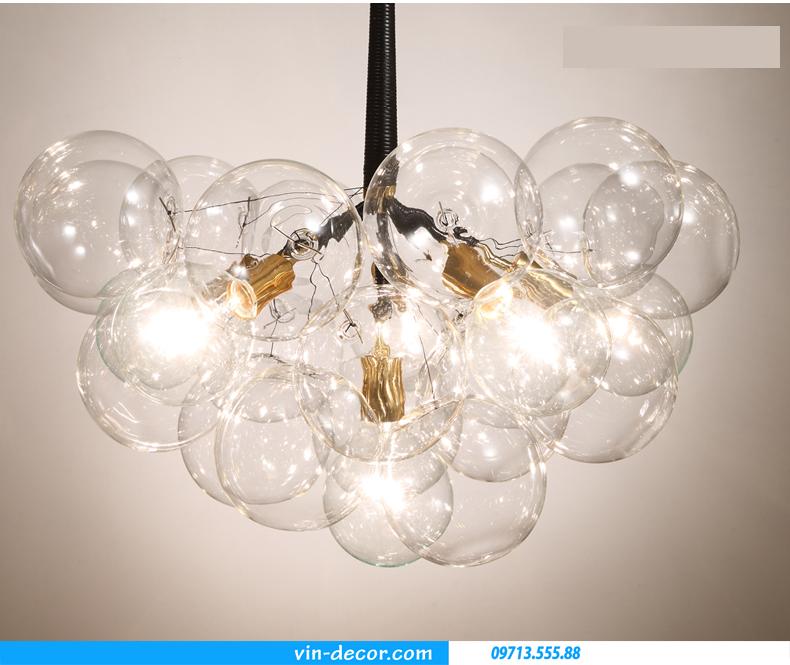 đèn thả bong bóng hiện đại sang trọng 05