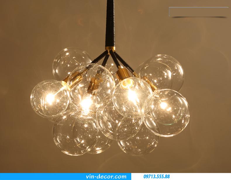 đèn thả bong bóng hiện đại sang trọng 06