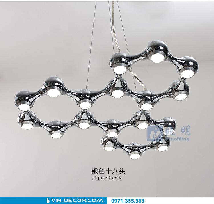 đèn thả trần phòng khách độc đáo 05