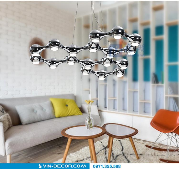 đèn thả trần phòng khách độc đáo 06