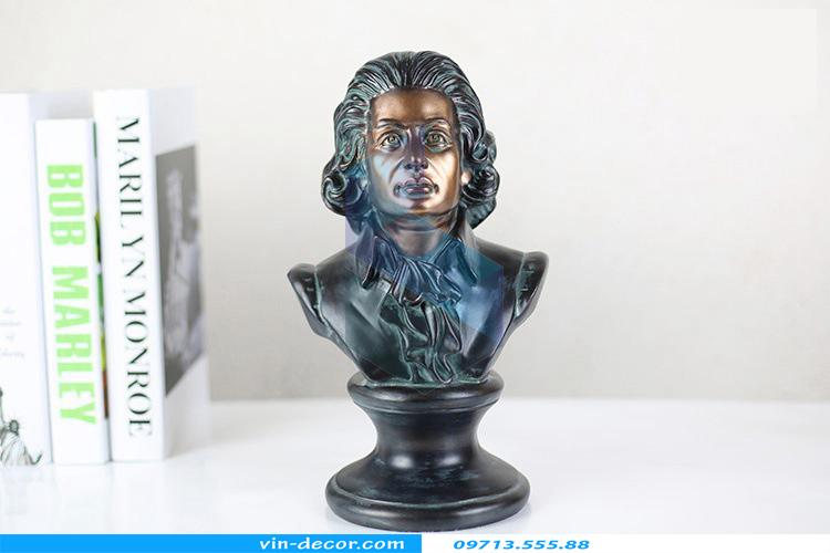 tượng mozart trang trí 01
