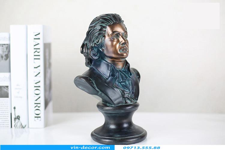 tượng mozart trang trí 02
