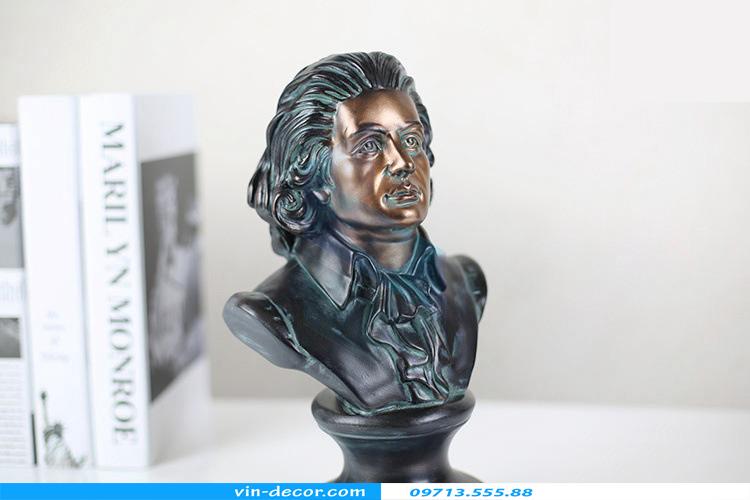 tượng mozart trang trí 03