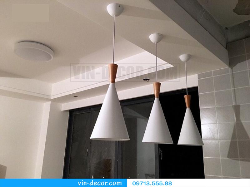 bộ 3 đèn thả bàn ăn độc đáo 01