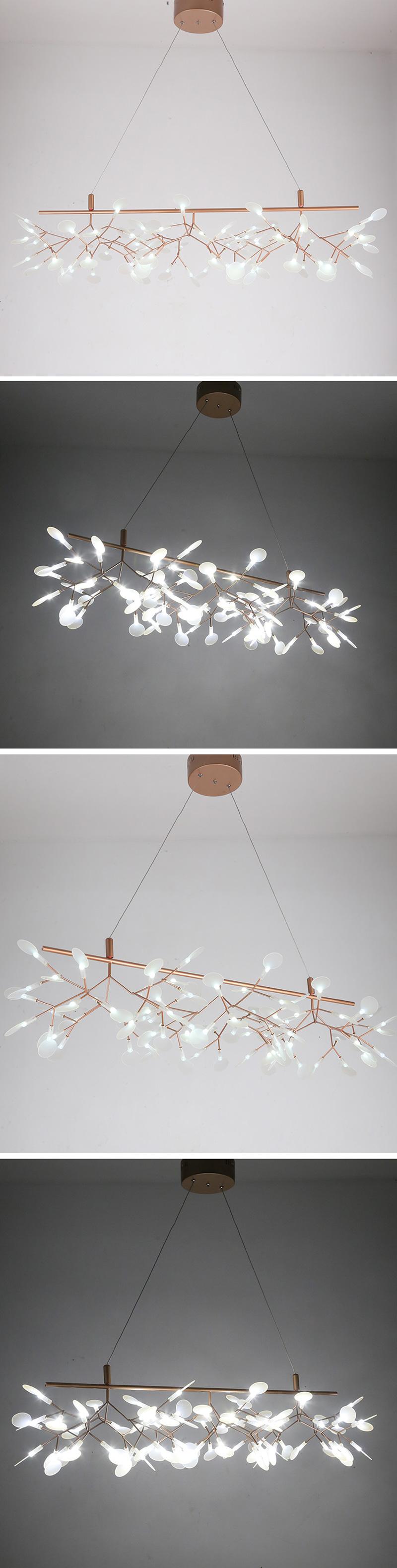 đèn bàn ăn heracleum độc đáo 06