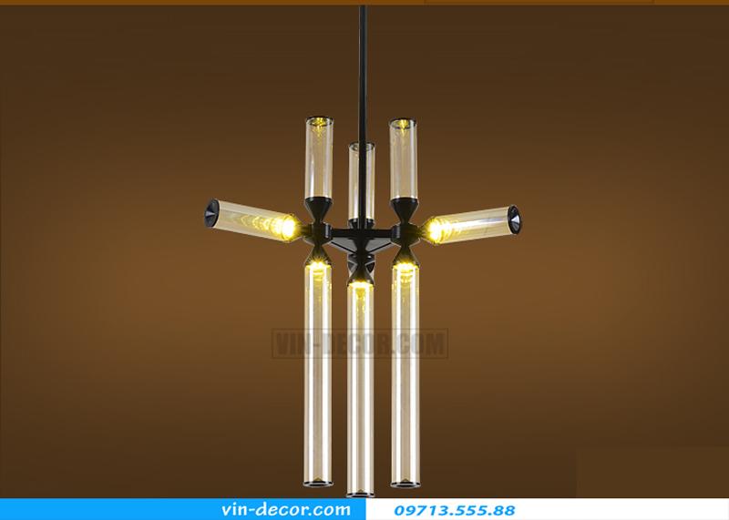 đèn chùm hiện đại ấn tượng 02