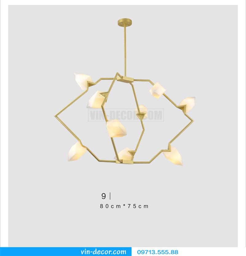 đèn chùm nghệ thuật md 588 01