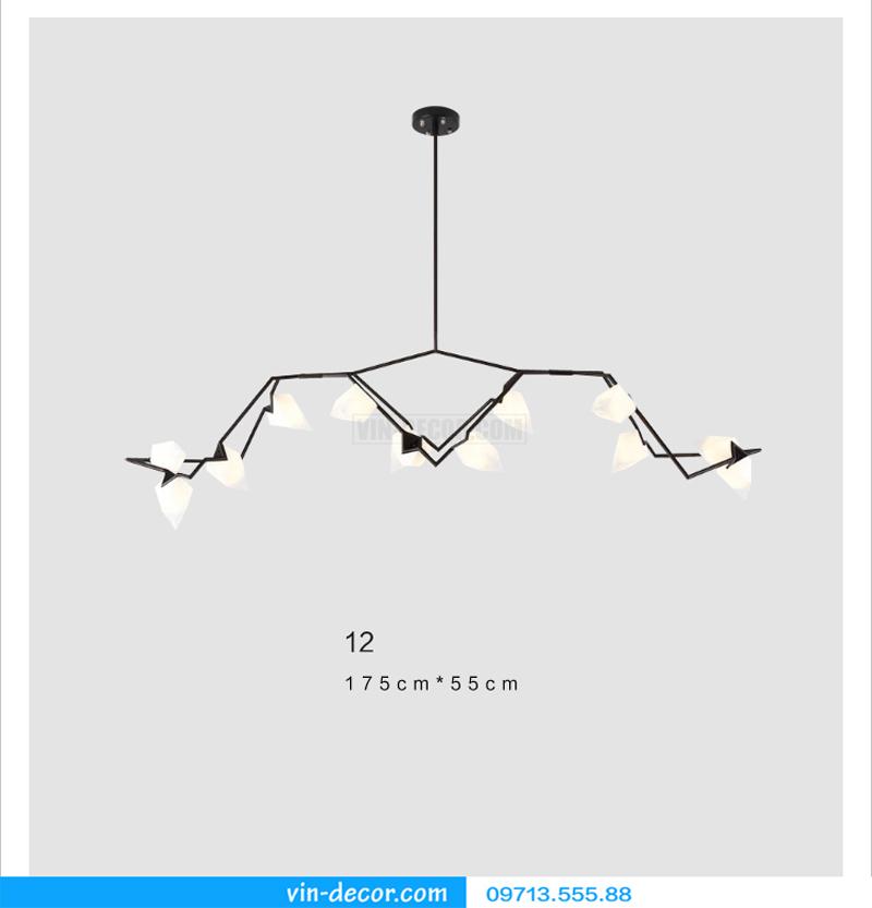 đèn chùm nghệ thuật md 588 03