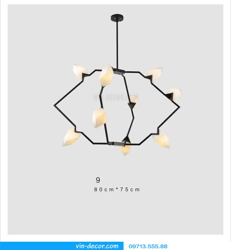 đèn chùm nghệ thuật md 588 09