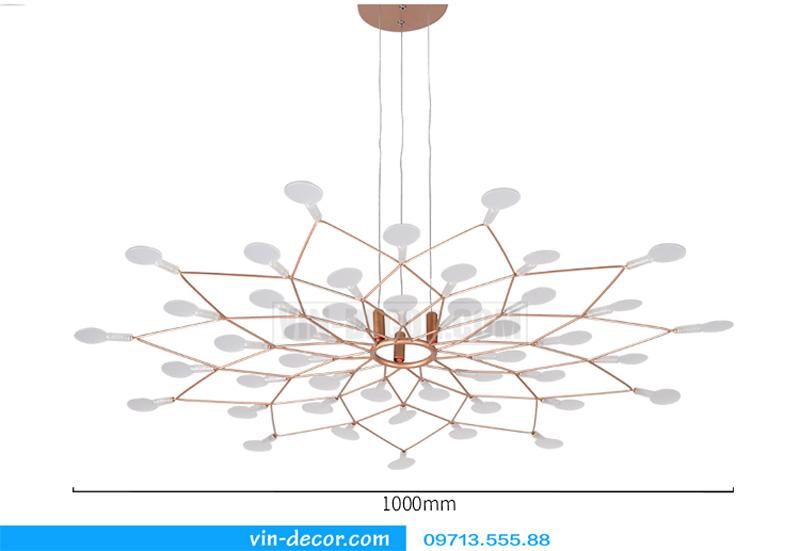 đèn heracleum ốp trần 04